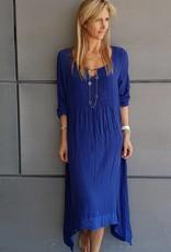 MARILYN DRESS VISCOSE PLAIN