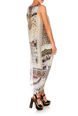 CAMILLA SPELL BOUND HIGH LOW CROSS BACK TOP