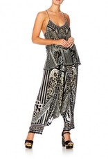CAMILLA TRIBAL THEORY T BACK SHOESTRING TOP