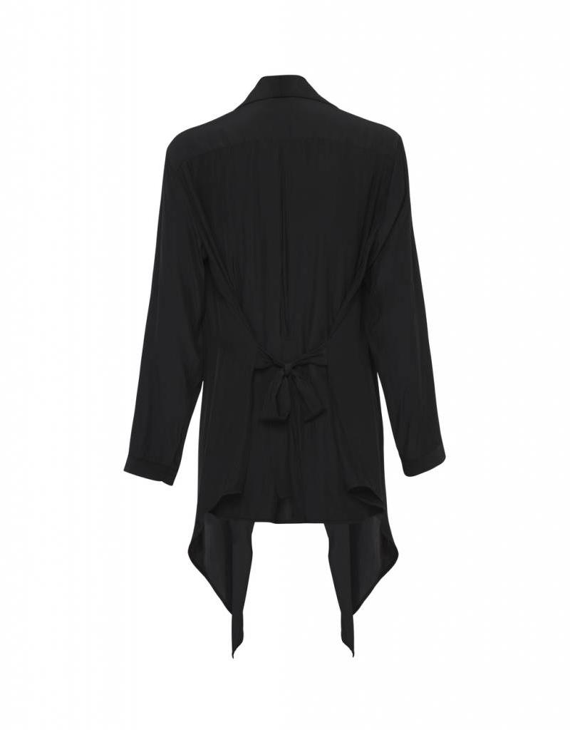 MELA PURDIE TUX TAIL JACKET BLACK