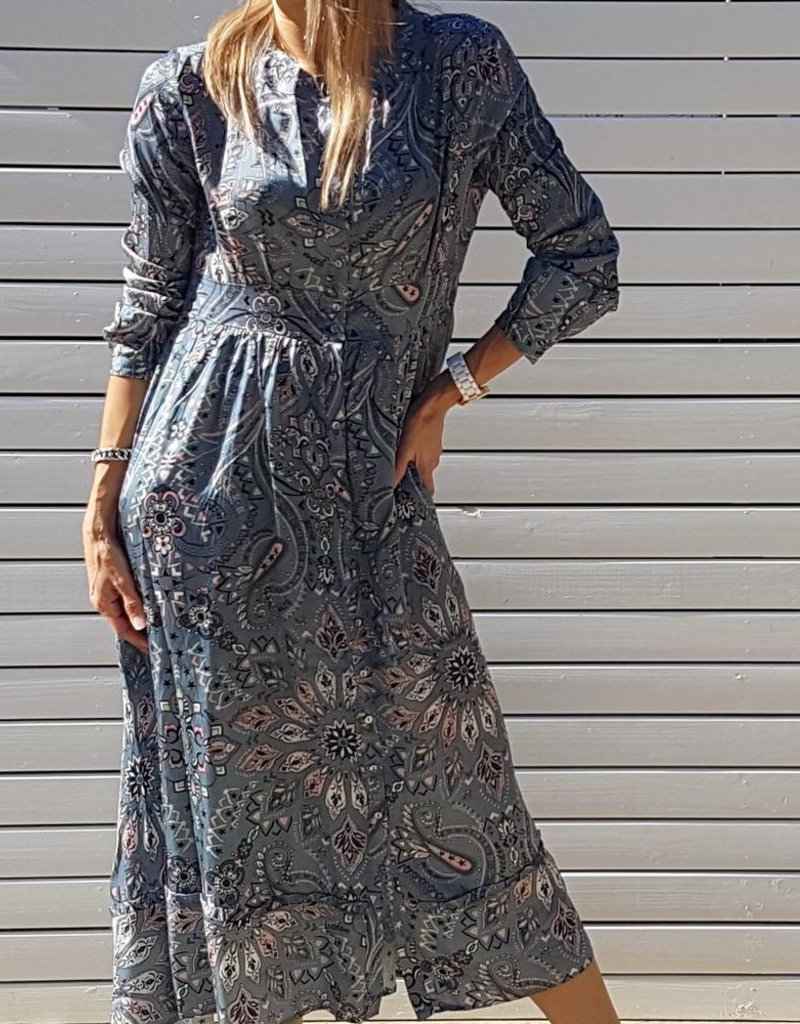 ODD MOLLY TRIUMPH LONG DRESS