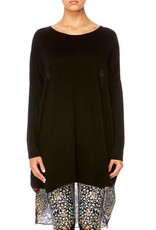 CHAMBER OF REFLECTIONS LONG SLEEVE JUMPER W/ PRINTED BACK