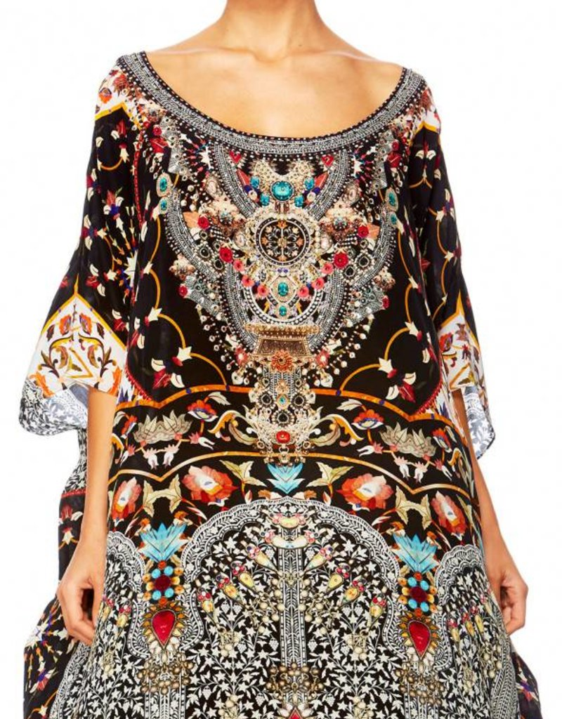 CHAMBER OF REFLECTIONS ROUND NECK KAFTAN