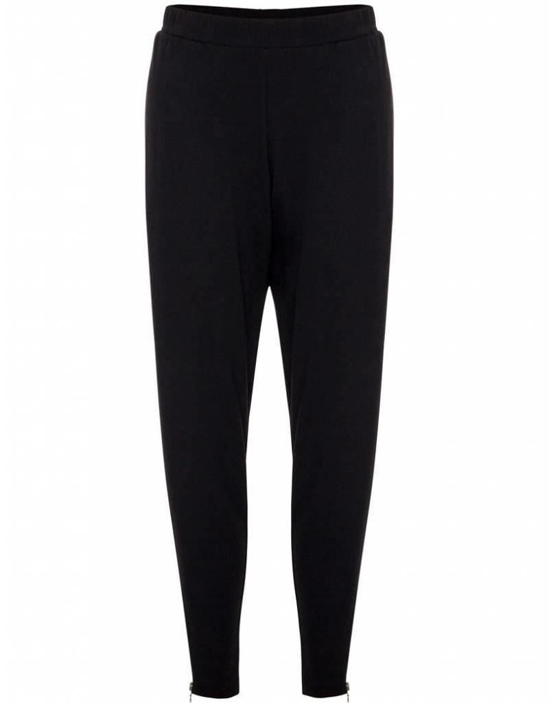 MELA PURDIE ZIP  STILETTO PANT BLACK