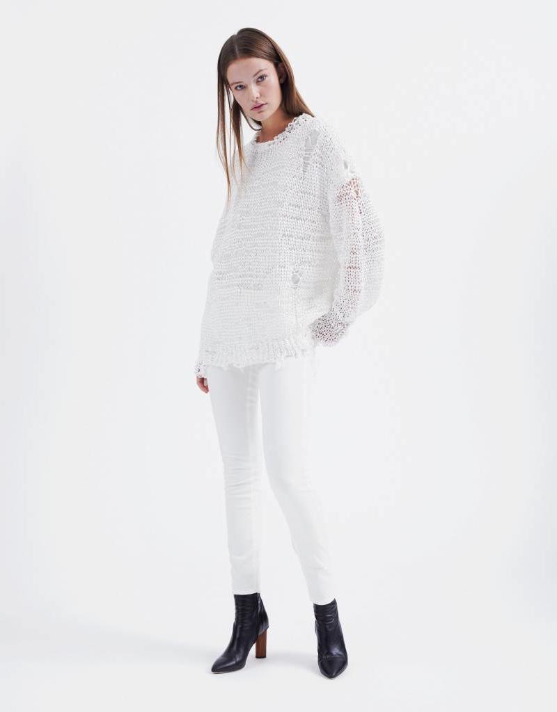 IRO NERINGA TOP WHITE