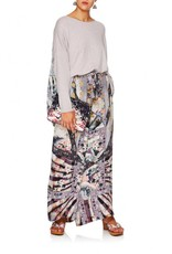 CAMILLA IN HER SHOES LOUNGE TROUSER W/TIE WAIST