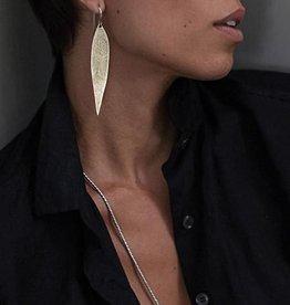 EWA SILVER DAGGER EARRINGS
