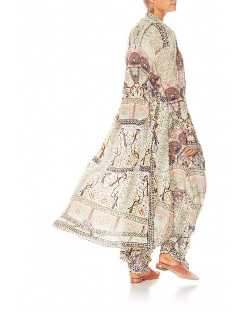 MAMA BAKSHI LONG CASUAL JACKET W/ POCKETS