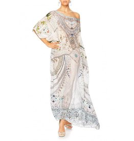CAMILLA BREAKFAST WITH SYLVIA ROUND NECK KAFTAN