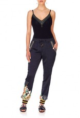 CAMILLA MIDNIGHT MOONCHILD DRAWSTRING PANT W/RIBBING