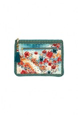 CAMILLA HER HEIRLOOM SMALL CANVAS CLUTCH