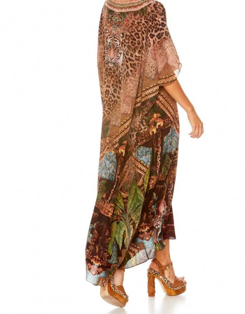 CAMILLA THE GYPSY LOUNGE V-NECK KAFTAN