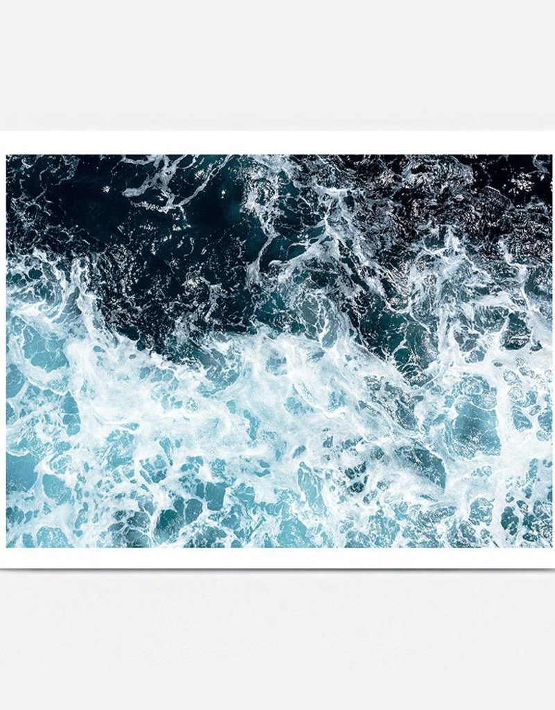 BLACKLIST -  OCEAN NOISE ART PRINT