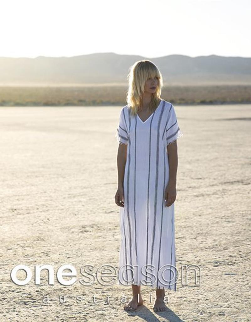 ONE SEASON LIDO DRESS TULUM YARN DYE