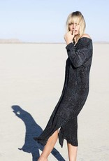 ONE SEASON GENIE DRESS CORSICA  BLACK