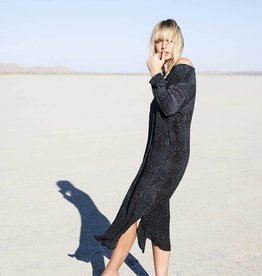 ONE SEASON GENIE DRESS CORSICA  BLACK
