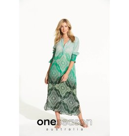 ONESEASON GENIE DRESS TAJ EMERALD