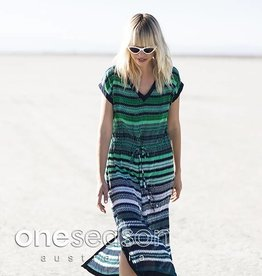 ONESEASON SAMI DRESS MALTA VISCOSE