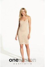 ONE SEASON SLIP TENCEL JERSEY NUDE