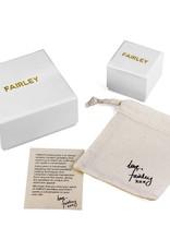 FAIRLEY PEARL BAR RING GOLD