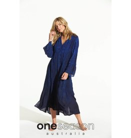 ONE SEASON BECCA DRESS CORSICA ROYAL