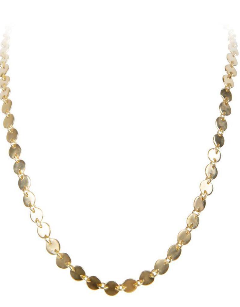 FAIRLEY ALEXA WATERFALL NECKLACE GOLD