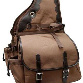 SHILOH STABLES AND TACK SHOWMAN 600 DENIER DELUXE SADDLE BAG 0110