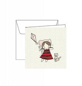 Carte de souhaits - Cerf-volant
