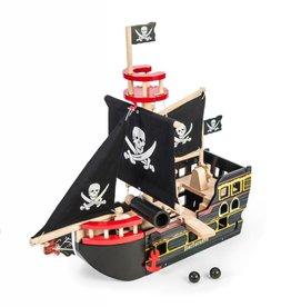 Bateau de pirates - Barbe Rousse