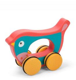 Léo l'oiseau à roues