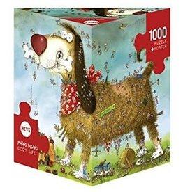 Heye 1000 pièces - Vie de chien