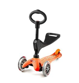 Trottinette - Micro Kickboard - 3 en 1 - Orange