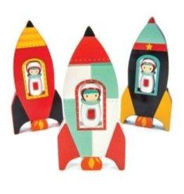 Petites fusées assorties - À l'unité