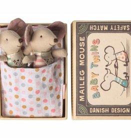 Bébés souris jumeaux dans une boite - Mini
