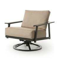 Dakoda Cushion Spring Swivel Club Chair
