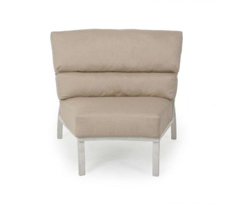 Heritage Woven Cushion Armless Club Chair