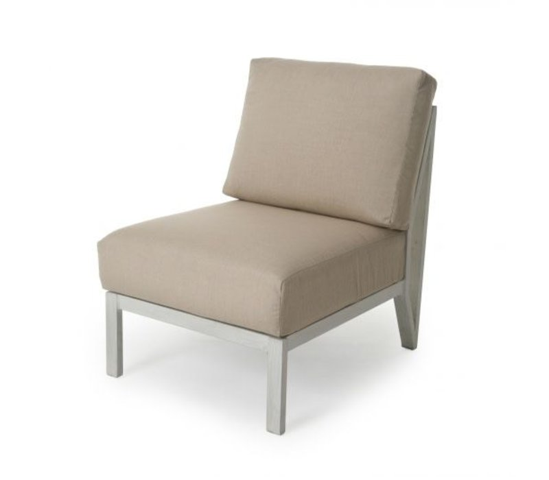 Madeira Cushion Armless Club Chair