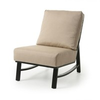 New Haven Cushion Armless Club Chair
