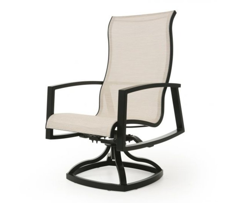 New Haven Sling Swivel Rocker