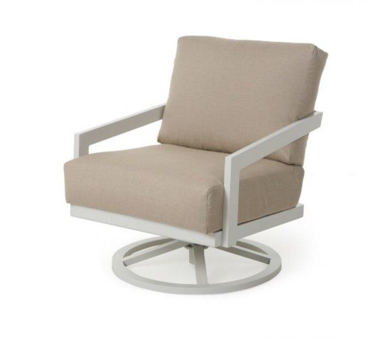 Oslo Cushion Spring Swivel Club Chair