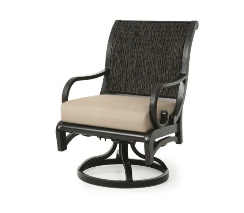 Celaya Woven Cushion Swivel Rocker