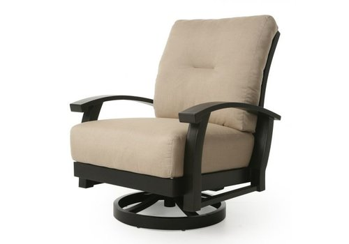 Georgetown Cushion Spring Swivel Club Chair