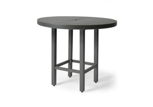 Trinidad 3000-Aluminium Bar Height Table 42 Round