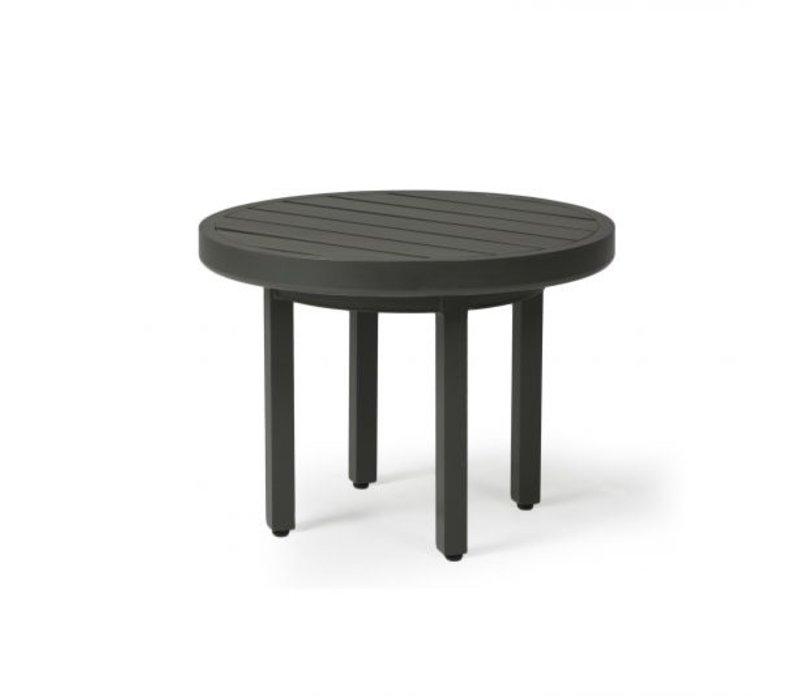Trinidad 3000-Aluminium End Table 24 Round