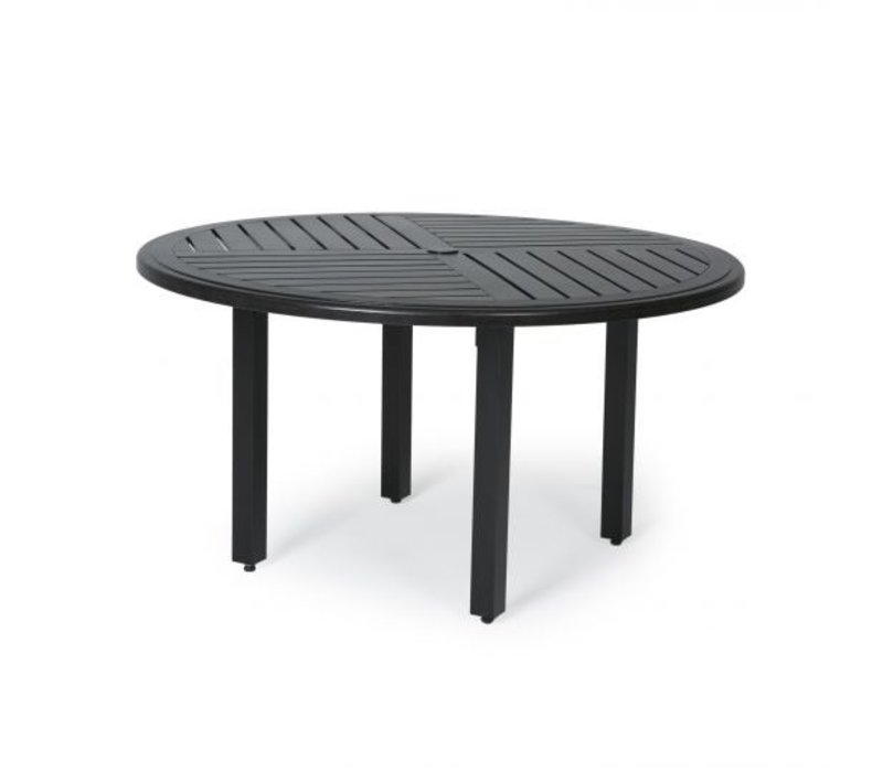 Trinidad F-Top-Aluminium Dining Table 48 Round
