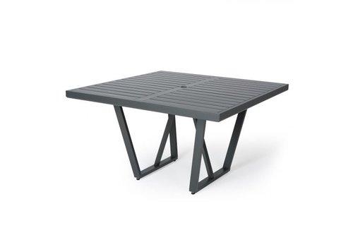 Formosa 5000-Aluminium Dining Table 48 Square