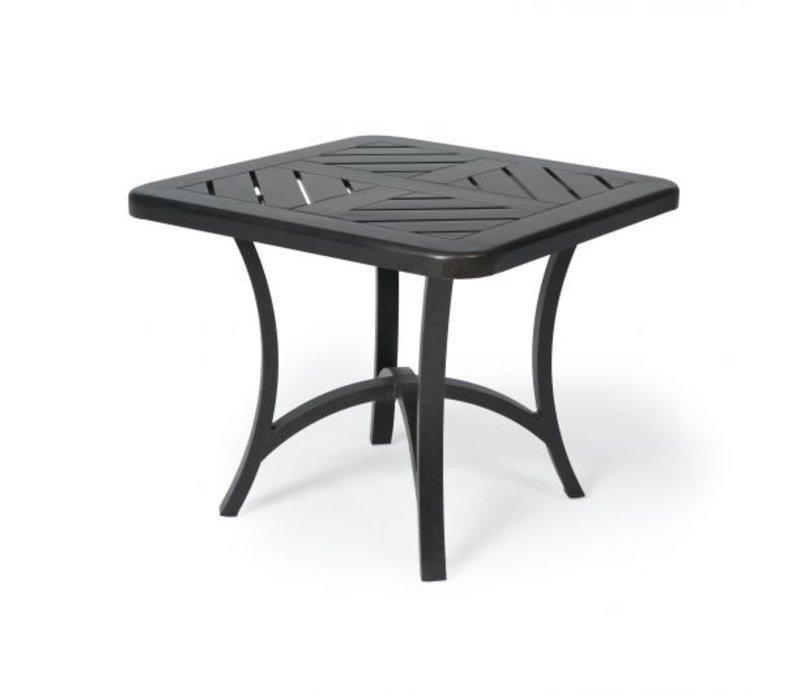 Fulton 4000-Aluminium End Table 27 Square