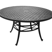 Napa 9000-Cast Dining Table 48 Round
