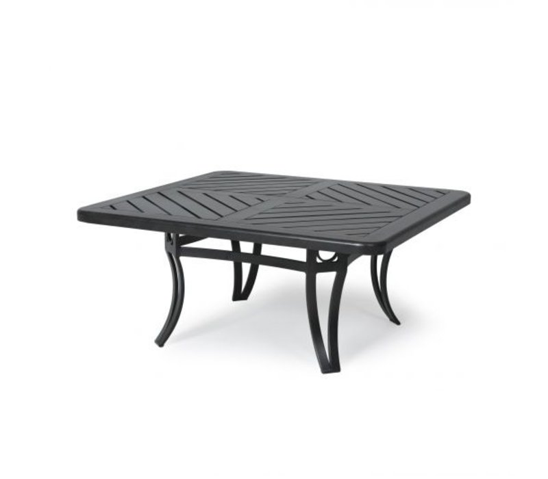 Salinas F-Top-Aluminium Coffee Table 42Square