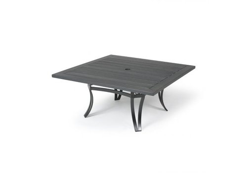 Salinas W-Top-Aluminium Coffee Table 42 Square